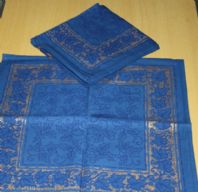 Pack of six Cotton Napkins
